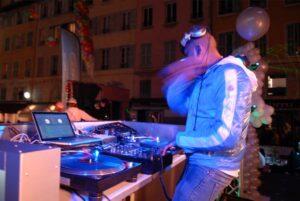 Animation de soirée avec DJ